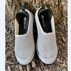 MAHABIS Women's Gray Summer Classic Slippers 7